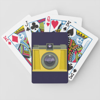 Plastic Camera Playing Cards