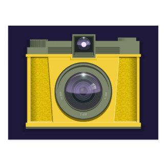 Plastic Camera Postcard (purple background)