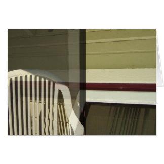 Plastic Chair Card