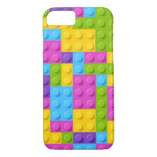 Plastic Construction Blocks Pattern iPhone 7 Case
