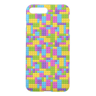 Plastic Construction Blocks Pattern iPhone 7 Plus Case