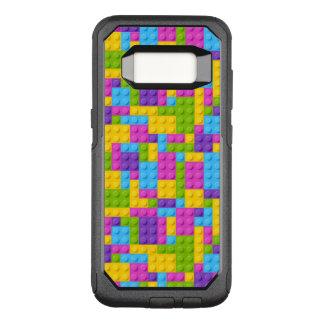 Plastic Construction Blocks Pattern OtterBox Commuter Samsung Galaxy S8 Case