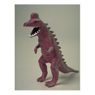 Plastic Dinosaur toy Postcard