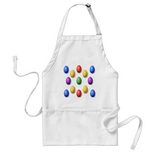 Plastic Easter Eggs Aprons