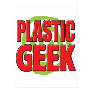 Plastic Geek Postcard
