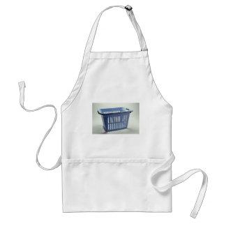 Plastic laundry basket Photo Apron