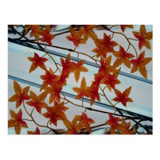 Plastic Leaves & Symmetry Postcard