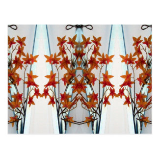 Plastic Leaves & Symmetry Two Postcard
