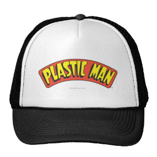 Plastic Man Logo Mesh Hat