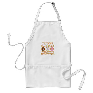 Plastic Surgeon Will Work For Donuts Aprons