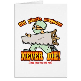 Plastic Surgeons Greeting Card