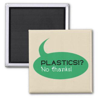 Plastics!? / 5.1 Cm Square Magnet