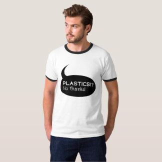 Plastics!? / Men's Basic Ringer T-Shirt