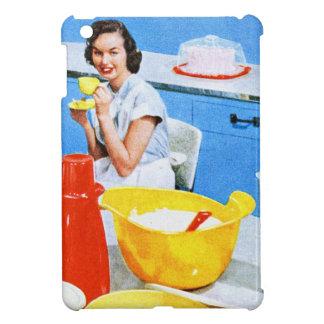Plastics Suburban Kitsch Housewife Kitchen iPad Mini Case