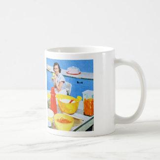 Plastics Suburban Kitsch Housewife Kitchen Mugs