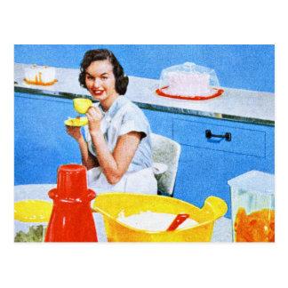 Plastics Suburban Kitsch Housewife Kitchen Postcards