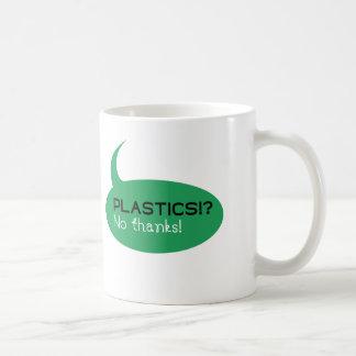 Plastics!? / White 325 ml  Classic White Mug