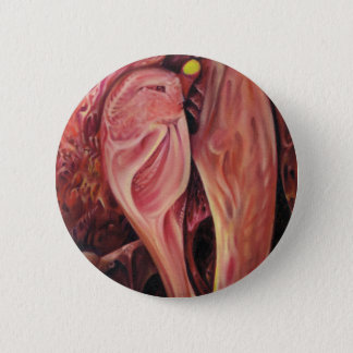 Plasty, an abstract 6 cm round badge
