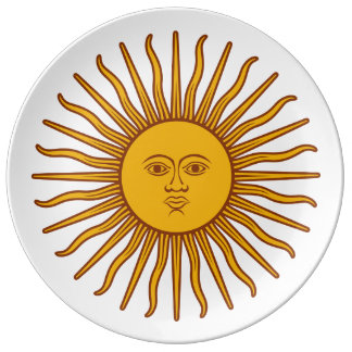 Plate - Blazing sunshine