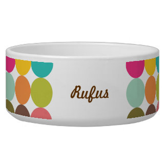 Plate for mascot Dog Dog Food Bowl