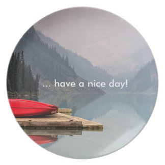 """Plate """"… have A nice day! """""""
