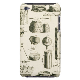 Plate II: Ancient and modern percussion instrument iPod Touch Case
