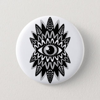 Plate Indian eye 6 Cm Round Badge