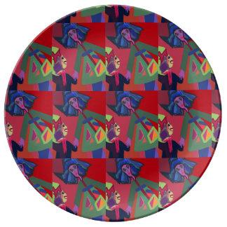 "Plate ""Kindergarden"" by MAR"