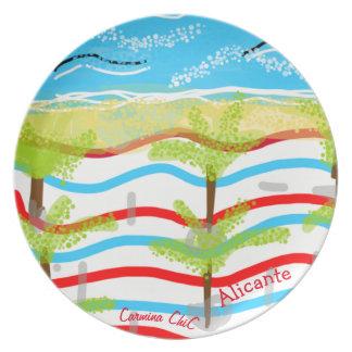 Plate of Alicante