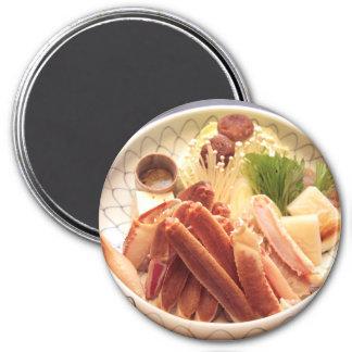Plate of Crab Legs Food Magnet