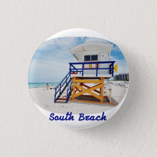Plate of Miami South Beach Patrol 3 Cm Round Badge