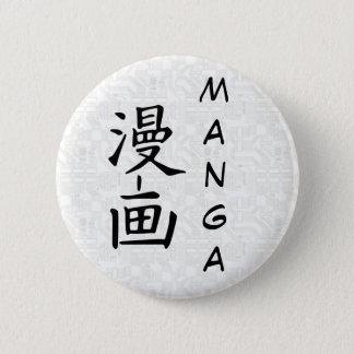 Plate sleeve 6 cm round badge