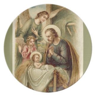 Plate: St. Joseph Nativity Party Plates