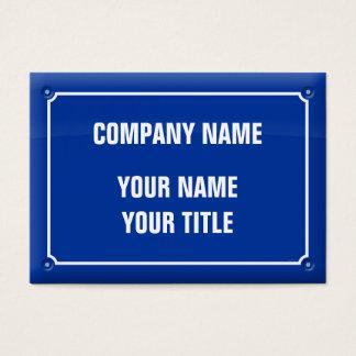 plate street - FRANCE Business Card