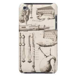 Plate VI: Wind instruments from the Encyclopedia o iPod Touch Case