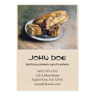 Plate with Bread by Vincent Van Gogh Pack Of Chubby Business Cards