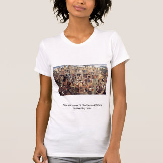 Plate With Scenes Of The Passion Of Christ T Shirts