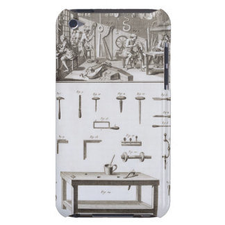 Plate XVIII: The instrument maker's workshop and t iPod Touch Cover