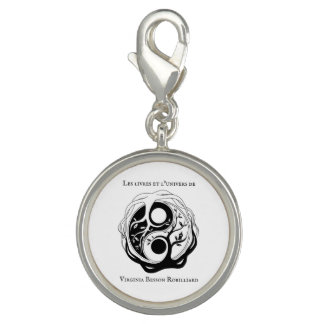Plated silver charm