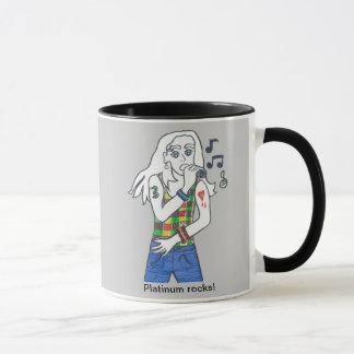 Platiinum rocks/Aaron soars Mug