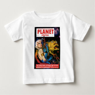 Platinum Blonde and her Monster Friend Baby T-Shirt