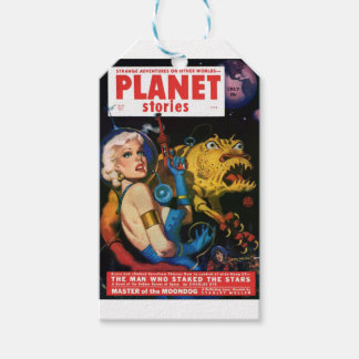 Platinum Blonde and her Monster Friend Gift Tags