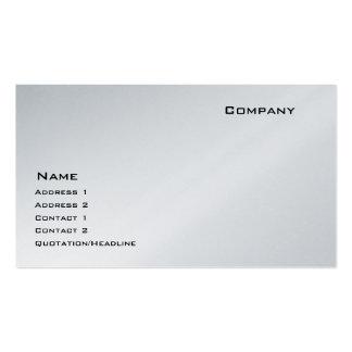 Platinum Pack Of Standard Business Cards