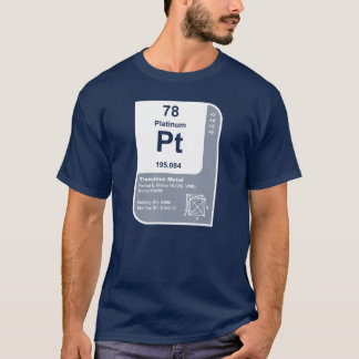 Platinum (Pt) T-Shirt