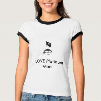 Platinum-Tour-Logo(2) Final, I LOVE Platinum Men T-Shirt