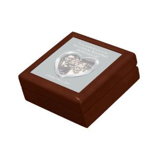 Platinum wedding photo wife gift box