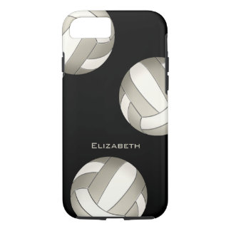 platinum white women's volleyball iPhone 8/7 case