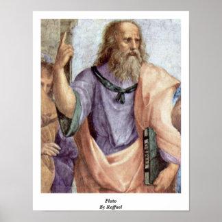 Plato By Raffael Poster