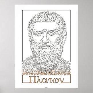 Plato. Greek philosopher [014] Poster