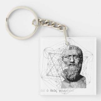 Plato Key Ring